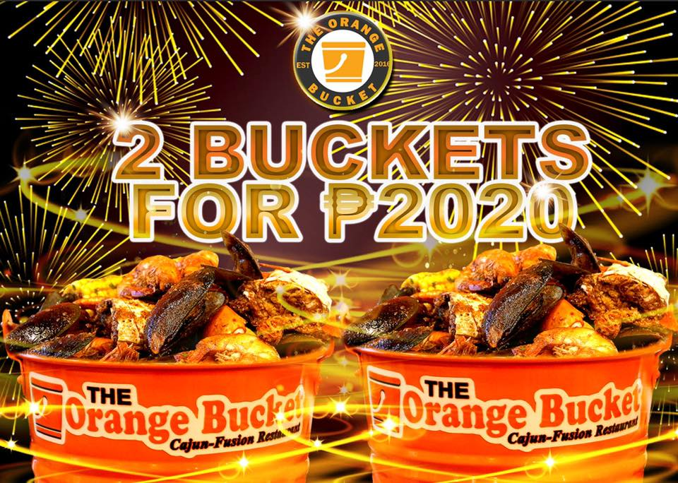 2 Buckets for ₱2020